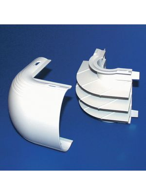 HellermannTyton MCRFW-EE-1 Multi-Channel Raceway External Elbow