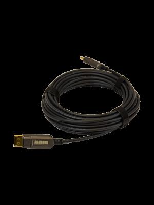 TechLogix MOFO-DP14-15 MOFO™ Media Over Fiber Optic cable -DisplayPort 1.4 (15 Meter)