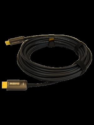 TechLogix MOFO-HD20-15 MOFO™ Media Over Fiber Optic cable - 18G HDMI 2.0 (15 Meter)