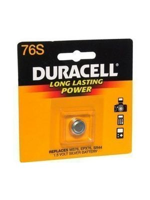 Duracell MS76B 1.5v Silver Oxide Button Cell