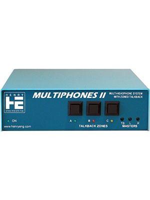 Henry Engineering MULTIPHONES II Distributed Headphones System
