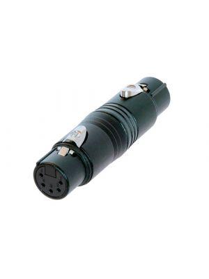 Neutrik NA5FF-B DMX 5-Pin Gender Conversion Adapter