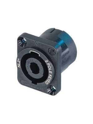 Neutrik NL2MP speakON Chassis Connector
