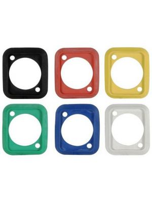 Neutrik SCDP-0 D-Shape Sealing Gasket (Black)