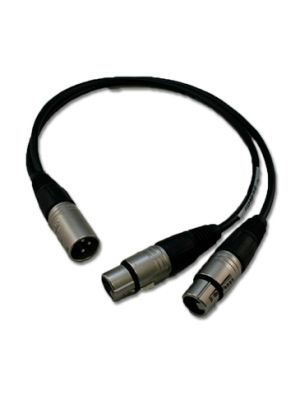 NoShorts XLR Y-Cable (18 IN)