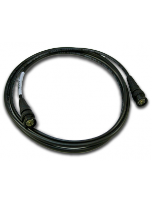 NoShorts 1855ABNC3BLK HD-SDI Mini Coax BNC Cable (3 FT - Black)