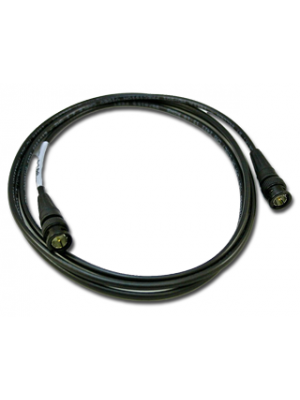 NoShorts 1855ABNC2BLK HD-SDI Mini Coax BNC Cable (2 FT - Black)