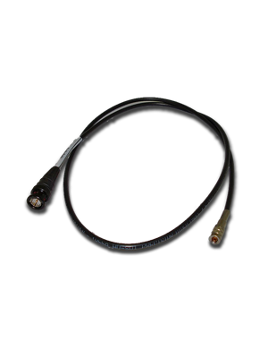 NoShorts 1855ADIN3BLK DIN to BNC HD-SDI Coax Cable (3 FT)
