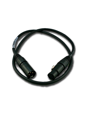 NoShorts XLR Male to Female Cable (3 FT)