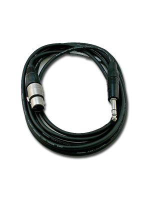 NoShorts XLR Female to 1/4 IN Stereo Male Cable (10 FT)