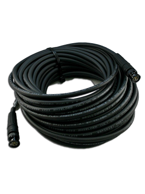 NoShorts 1505FBNC100BLK HD-SDI Flexible BNC Cable (100 FT - Black)
