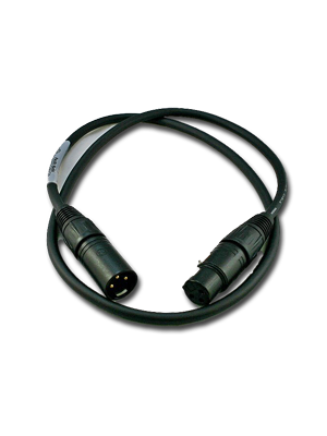 NoShorts XLR Male to Female Cable (1 FT)