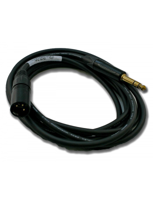 NoShorts 1/4 Inch Stereo Male TRS to XLR Male Cable (6 FT)
