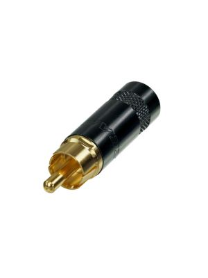 REAN NYS352BG RCA/Phono Plug Black/Gold