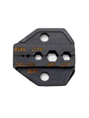 Paladin Tools 2648 75-ohm HDTV Crimp Tool Die Set for CrimpALL/8000 Series and 1300 Series frames