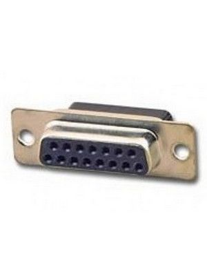 Pan Pacific DH-15HS D-Sub 15 Pin Crimp Style Connector - Female