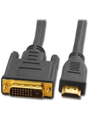 Pan Pacific S-HDMI-DVI-2  HDMI Male to DVI Male Cable - 2 Meters