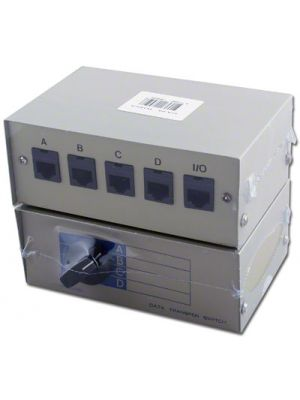 Pan Pacific ABM-T8-4 4-Way Modular Switch Box