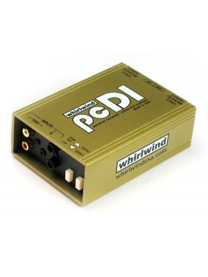 Whirlwind pcDI Dual Channel Stereo Direct Box