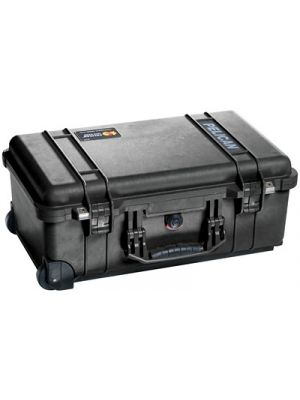 Pelican 1510 Carry-On Case w/ Pick 'N' Puck Foam & Wheels (Black)