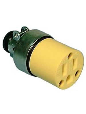 Philmore 8515-JB Female Cable End Steel Armor Clad - Yellow