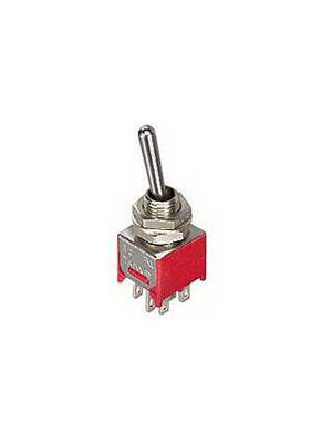 Philmore 30-10018 Mini Toggle Switch DPDT (On)-Off-(On)