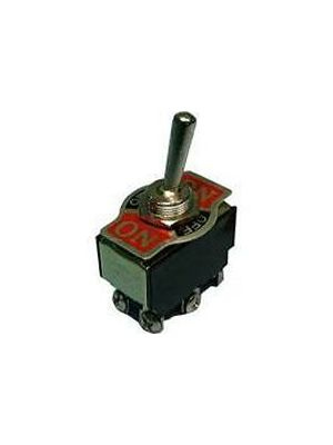 Philmore 30-226 Bat Handle Toggle Switch On/Off/On DPDT