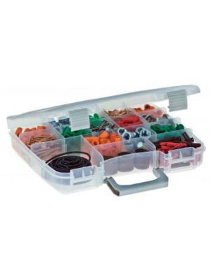 Plano 3860 5-17 Adjustable Compartment Storage Organizer with StowAway Pro Latch