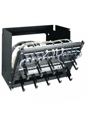 Middle Atlantic PPM-8-12 PPM Series Pivoting Panel Mount Rack (8 RU)
