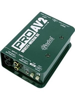 Radial Engineering ProAV2 Stereo Multimedia Direct Box