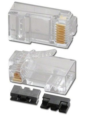 Pan Pacific PT-0688-UL50P1 RJ45 Connector for CAT6 (100 Pack)