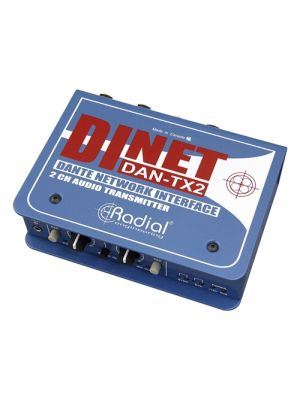 Radial Engineering DiNET DAN-TX2 2-Channel Dante Network Transmitter