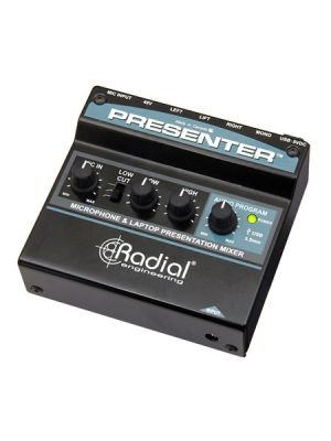 Radial Engineering Presenter Audio Presentation Mixer & USB Interface