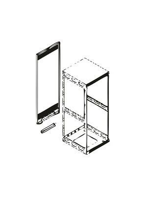 Middle Atlantic RAP29 Rear Access Panel for 29 RU Slim 5 Rack