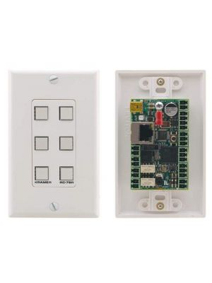 Kramer RC-76R 6–button Ethernet and KNET Control Keypad