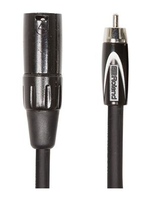 RCC-5-RCXM Black Series XLR Male to RCA Interconnect Cable (5 FT)