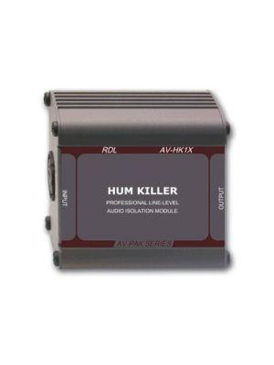"Radio Design Labs AV-HK1X ""HUM KILLER"" Audio Isolation Transformer - XLR input and output"