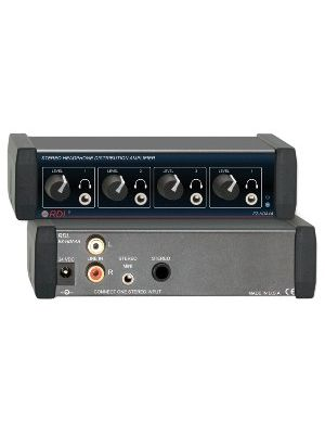 Radio Design Labs EZ-HDA4A Stereo Headphone Distribution Amplifier - 1x4 Front-Panel Outputs