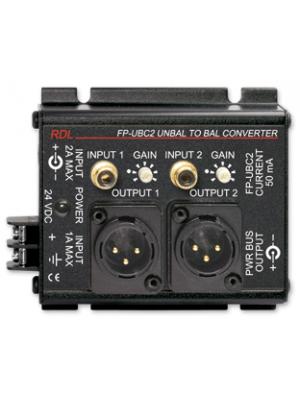 Radio Design Labs FP-UBC2 Unbalanced to Balanced Converter - 2 Channel