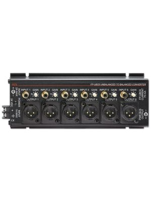 Radio Design Labs FP-UBC6 Unbalanced to Balanced Converter - 6 Channel