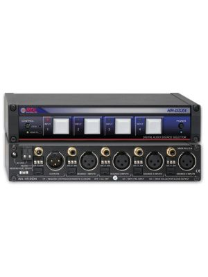 Radio Design Labs HR-DSX4 Digital Audio Selector - 4x1