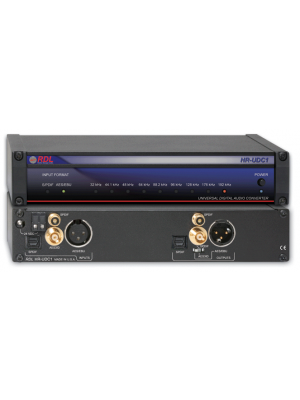 Radio Design Labs HR-UDC1 Universal Digital Audio Converter - AES/EBU, coaxial or optical S/PDIF, AES-3ID