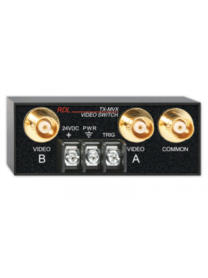 Radio Design Labs TX-MVX Manual Rmt Controlled Video Switch - 2x1 - BNC