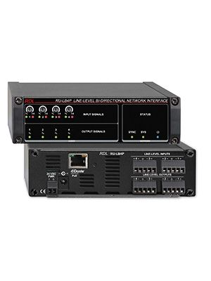 Radio Design Labs RU-LB4P Line-Level Bi-Directional Network Interface