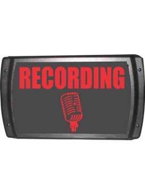 American Recorder LED Studio Sign w/ Metal Housing -