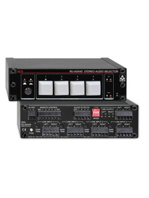 Radio Design Labs RU-ASX4D Stereo Audio Selector 4x1