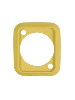 Neutrik SCDP-4 D-Shape Sealing Gasket (Yellow)