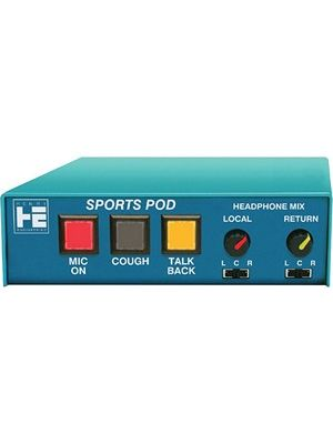 Henry Engineering SPORTS POD Mic/Headphone Controller & Intercom