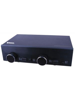 Vanco SS2V Two Pair Stereo Speaker Selector Box with Volume Control