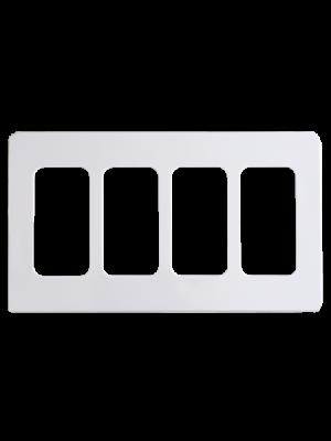 NuBryte SS04 Quad Gang Wall Plate